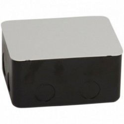 FLUSH MOUNT BOX BETON-METAL 4M Metal flush-mounting box for installation in concrete floor - 4 modules