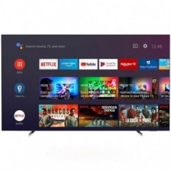 PHILIPS TV OLED 65 (164 cm) 4K UHD Ultra SlimOLED Android, 3840x2160p, Ambilight 3-side, Quad Core, P5 Perfect Picture Engine...