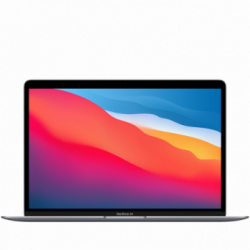 Apple MacBook Air 13.3-inch Retina LED-backlit display with IPS technology- 2560-by-1600 nr at 227 ppi-M1 chip 8-core CPU and...