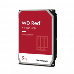HDD Desktop WD Red (3.5, 2TB, 256MB, 5400 RPM, SATA 6 Gb-s)