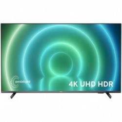 PHILIPS TV LED 75 (198 cm) 4K UHD Android TV, 3840x2160p, Ambilight 3-side, Quad Core, P5 Perfect Picture Engine, DVB-T-T2-T2...